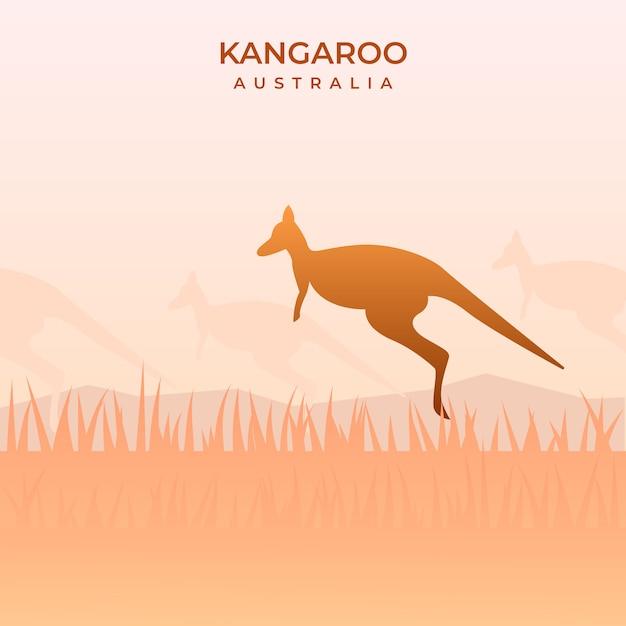 Australijskie Kangury J Premium Wektorów