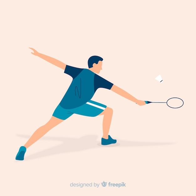 Badmintonista Darmowych Wektorów