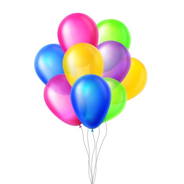 Balony Premium Wektorów