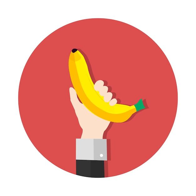 Banan Darmowych Wektorów