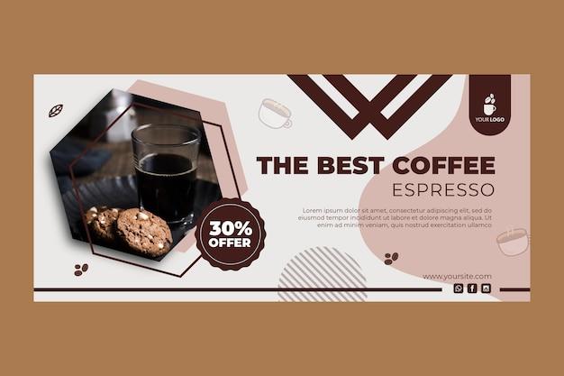 Baner Do Kawiarni Darmowych Wektorów