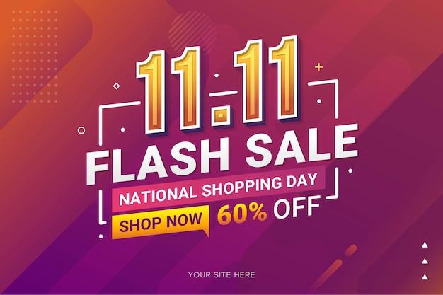 Baner Sprzedaży Dnia Zakupów Do Promocji Sprzedaży Detalicznej Biznesu Premium Wektorów