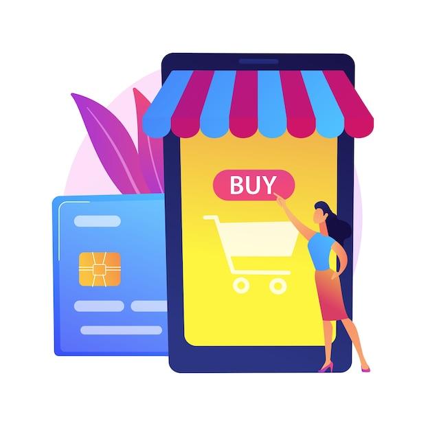 Bankowość Mobilna, Aplikacja Do Bankowości Elektronicznej. Portfel Cyfrowy, System Płatności Online, Aplikacja Bankowa. Nowoczesne Usługi Finansowe, Element Projektu Koncepcji Płatności. Darmowych Wektorów