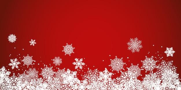 Banner świąteczny Premium Wektorów