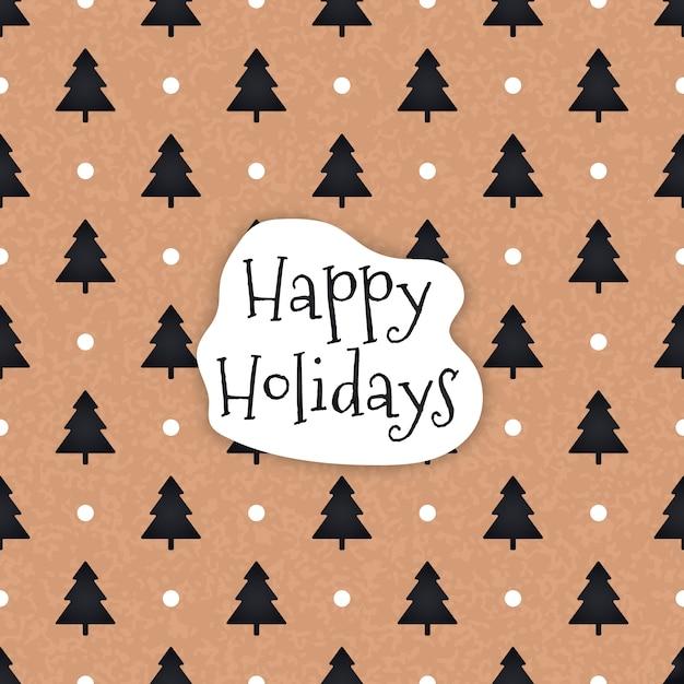 Bez Szwu Retro Złota Tekstury Wzorców Christmas Darmowych Wektorów
