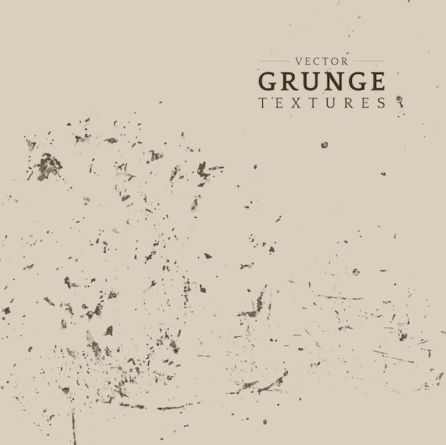 Beżowy grunge zakłopotany tekstura wektor Darmowych Wektorów