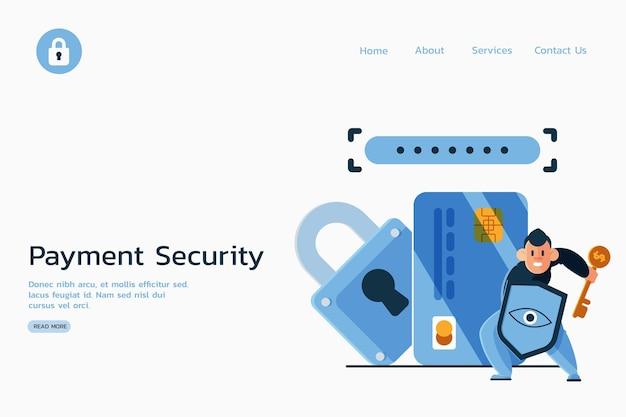 Bezpieczne Płatności Przeciwko Stronie Docelowej Cyberprzestępców Darmowych Wektorów