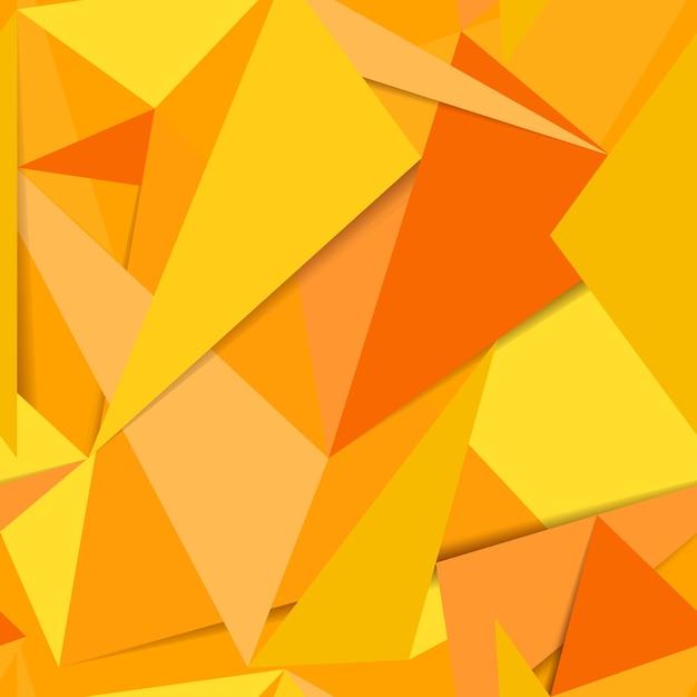 Bezszwowe żółte Tło Darmowych Wektorów