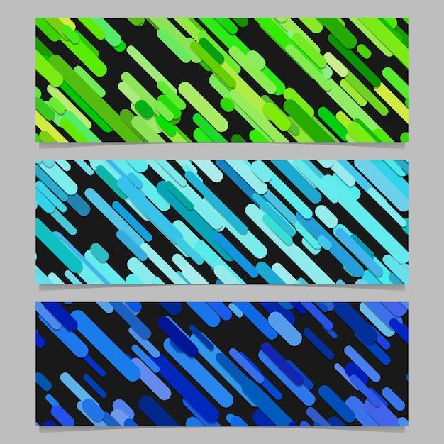 Bezszwowych Kolorowych Losowo Przekątnej Paskiem Wzoru Transparentu Tła Projektu Zestawu Darmowych Wektorów