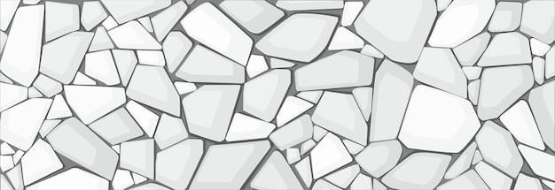 Biała Tekstura żwiru Premium Wektorów