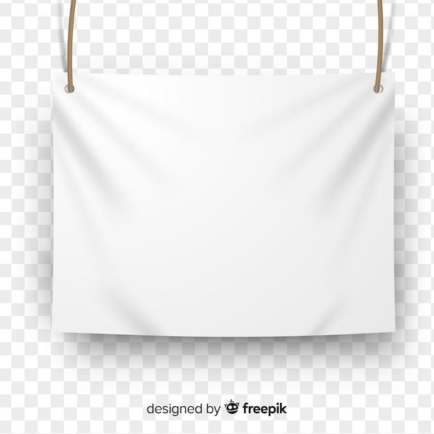 Biała Tkanina Transparent Darmowych Wektorów