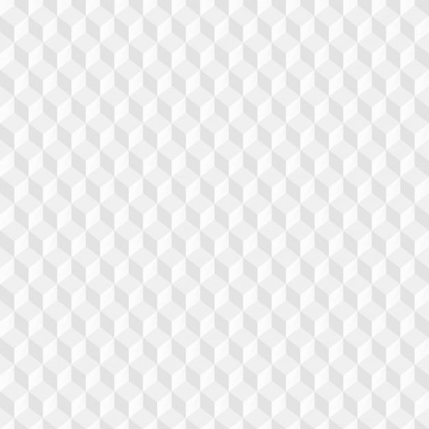 Białe kostki wzór Darmowych Wektorów