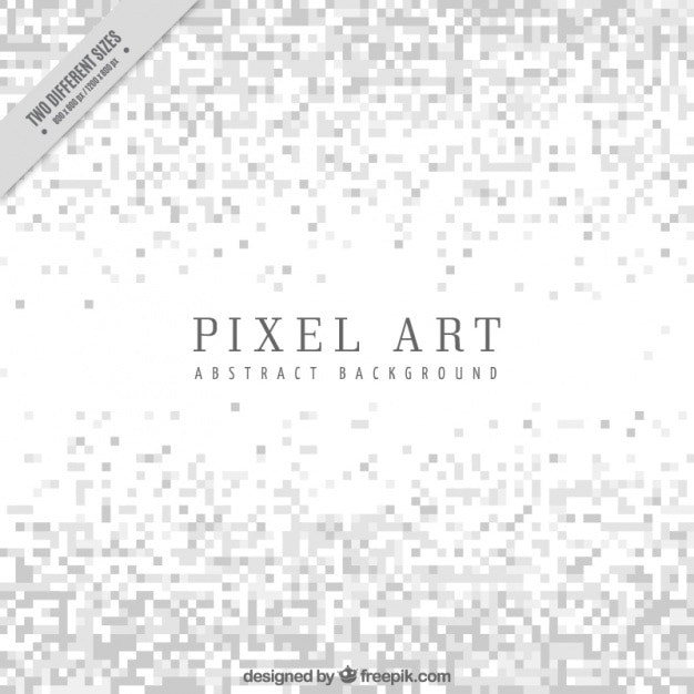 Białe Tło W Minimalistycznym Stylu Pixel Sztuki Darmowych Wektorów