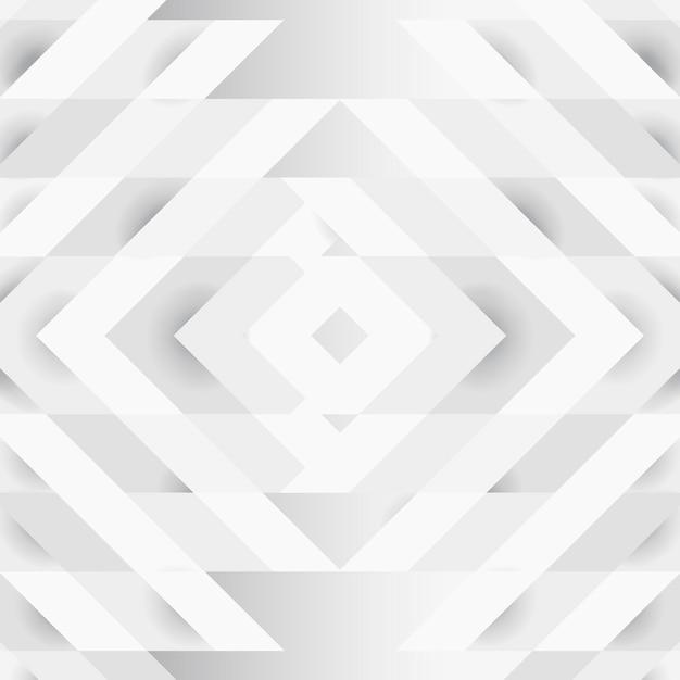 Biały 3d nowoczesny wzór tła Darmowych Wektorów