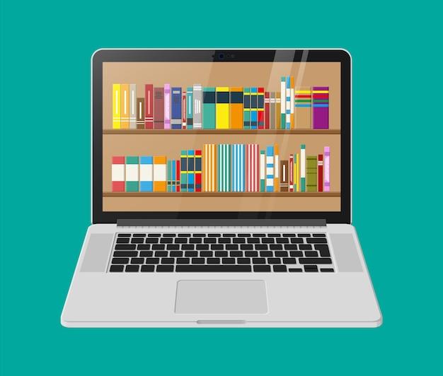 Biblioteka Cyfrowa, Księgarnia Internetowa, E-czytanie Premium Wektorów