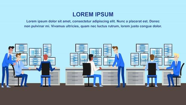 Biuro analizy danych Premium Wektorów