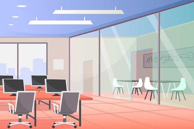 Biuro - Tło Do Wideokonferencji Darmowych Wektorów