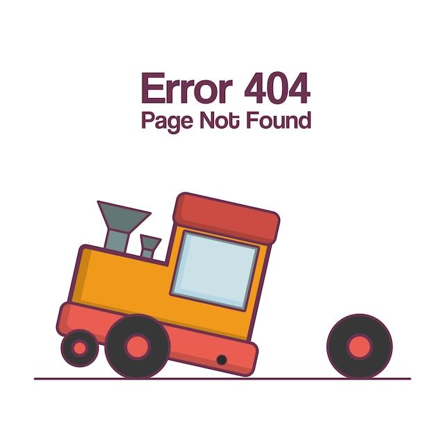 Błąd 404 Nie Znaleziono Strony Premium Wektorów