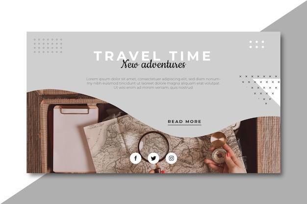 Blog Podróżniczy Darmowych Wektorów