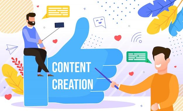 Blog Tworzenie Treści Copywriting Pisanie Kreatywne Premium Wektorów