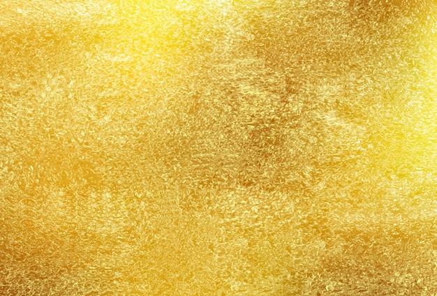 Błyszczące Złoto Teksturowane Tło Premium Wektorów