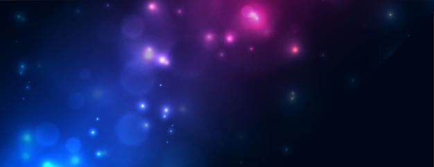 Błyszczący Transparent Efekt świetlny Bokeh W Dwóch Kolorach Darmowych Wektorów