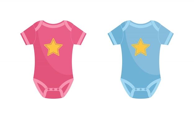 Body dziecięce Premium Wektorów