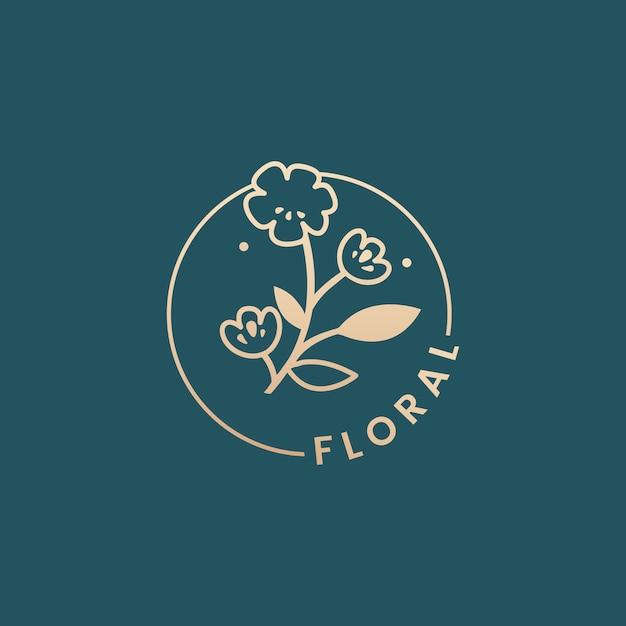Botaniczny kwiatowy ilustracji Darmowych Wektorów