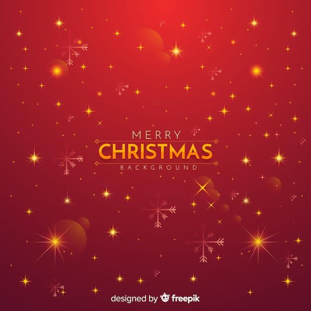 Boże Narodzenie Czerwone Tło Twinkle Darmowych Wektorów