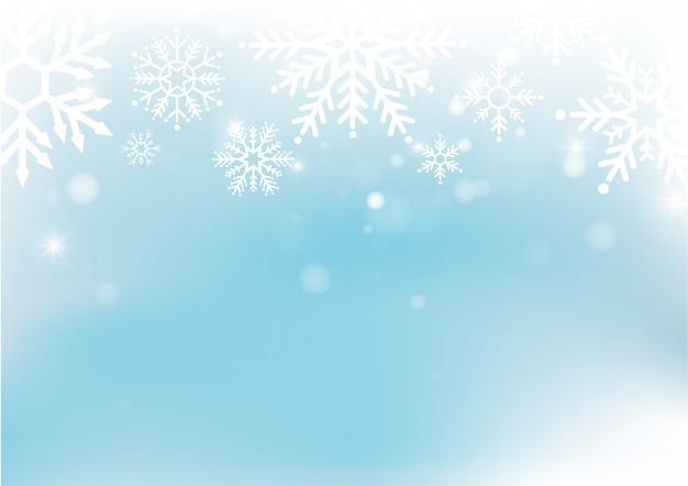 Boże Narodzenie I Nowy Rok Rozmycie Bokeh światła Na Tle Premium Wektorów