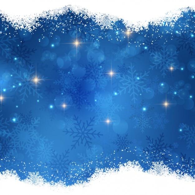 Bright Christmas Tło Nocy Darmowych Wektorów