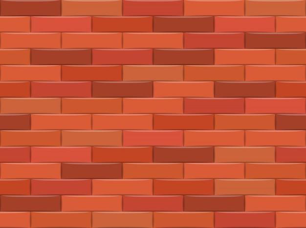 Brown ściana Z Cegieł Tło. Wzór. Ilustracji Wektorowych Premium Wektorów
