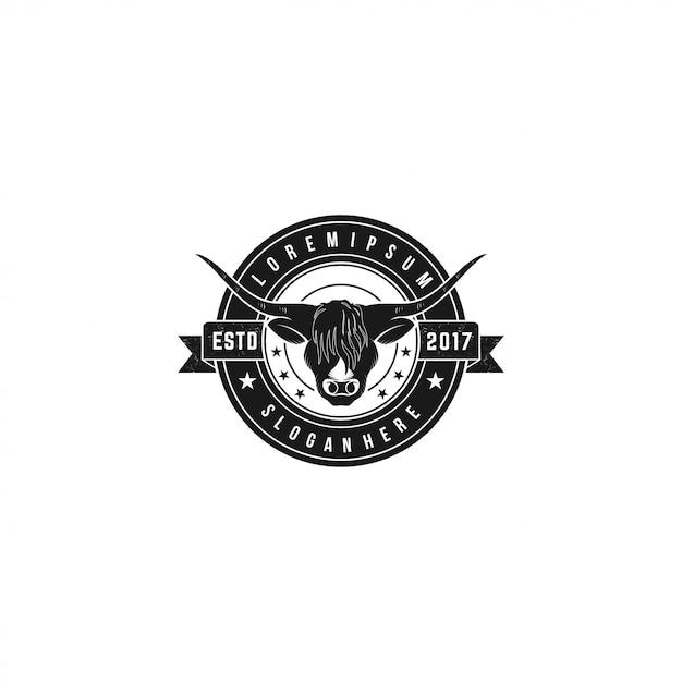 Buffalo Head Premium Wektorów