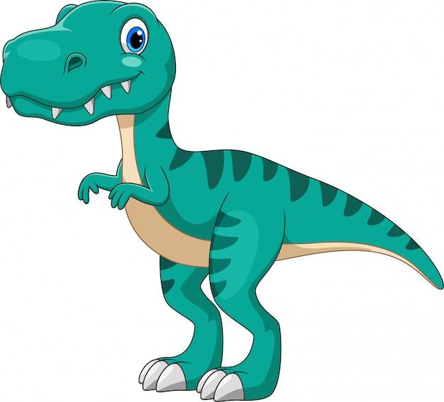 Cartoon Tyrannosaurus Premium Wektorów