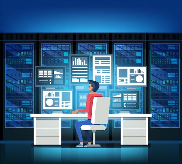 Centrum danych Premium Wektorów