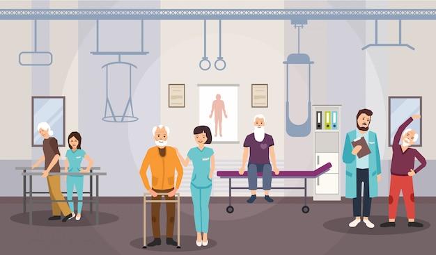 Centrum Rehabilitacji Premium Wektorów