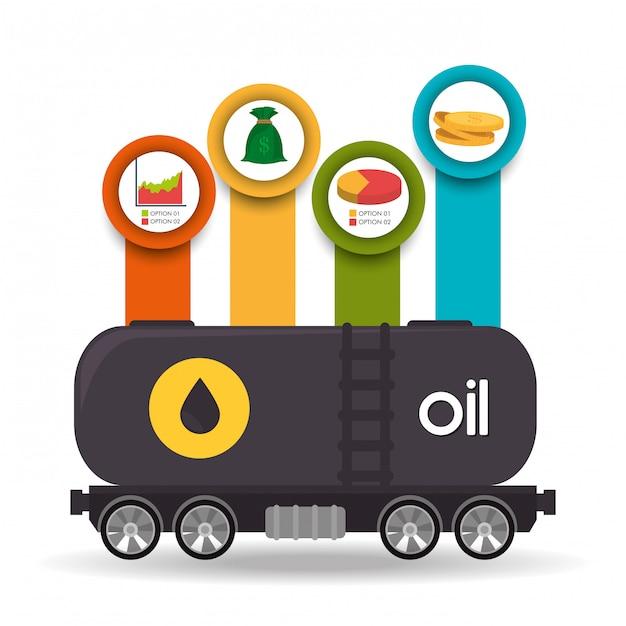 Ceny Przemysłu Naftowego I Naftowego Darmowych Wektorów
