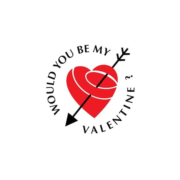 Chcesz Być Moją Walentynką Darmowych Wektorów