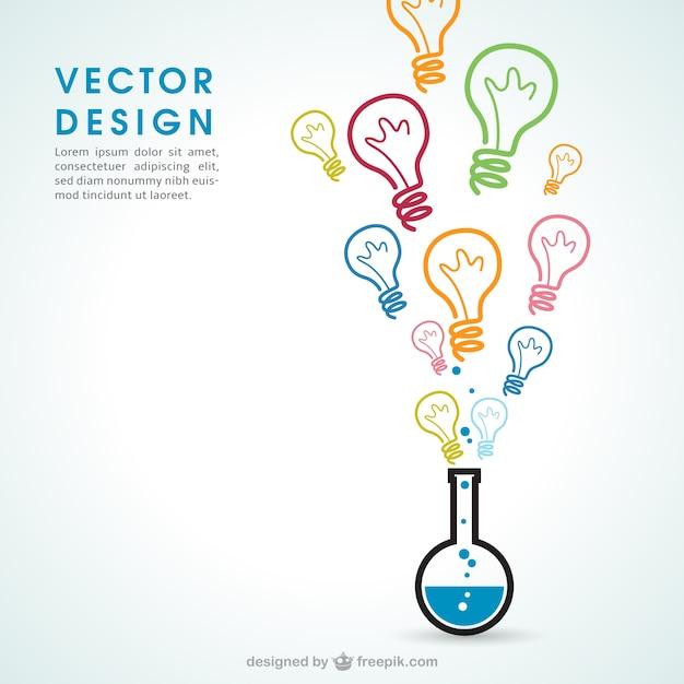 Chemia Pomysły Premium Wektorów
