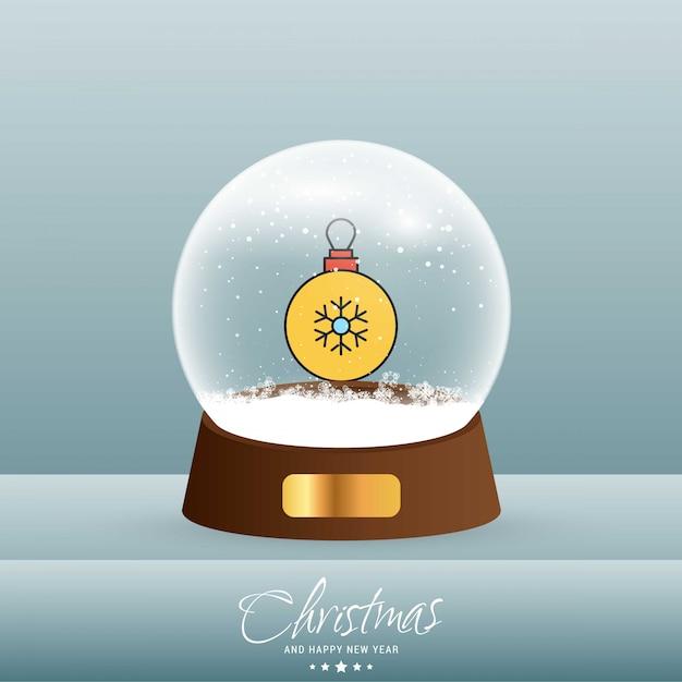Christmas snowflake card Darmowych Wektorów