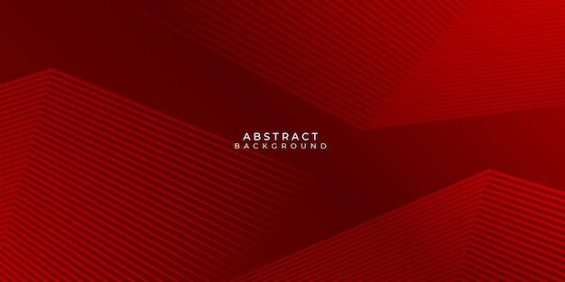 Ciemnoczerwone Linie Neutralne Abstrakcyjne Tło Premium Wektorów