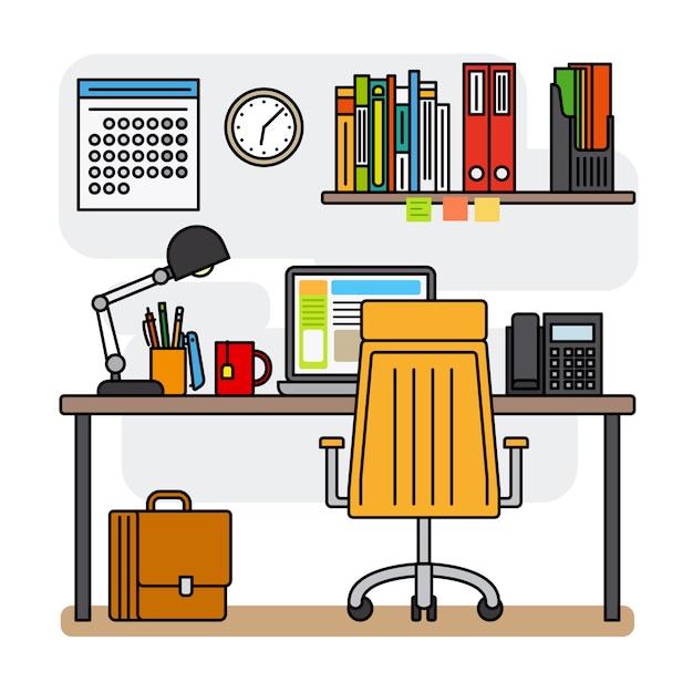 Cienka linia obszaru roboczego lub obszaru roboczego projektanta linii Premium Wektorów