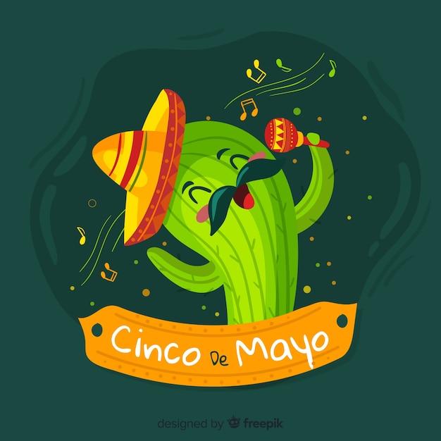 Cinco de mayo Darmowych Wektorów