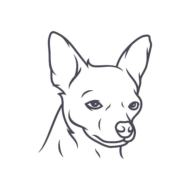 Cockapoo Dog - Wektor Logo / Ikona Ilustracja Maskotka Premium Wektorów