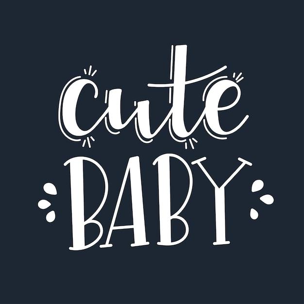 Cute Baby Motywacyjny Cytat Wyciągnąć Rękę. Premium Wektorów