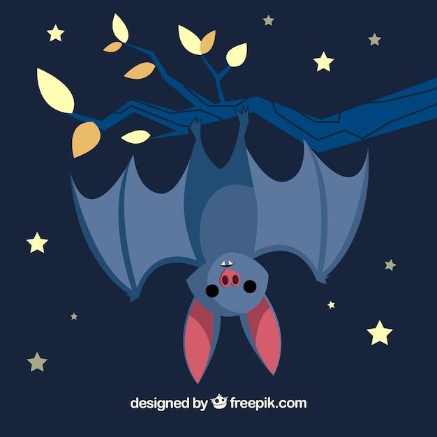 Cute Bat Tle Z Oddziału Darmowych Wektorów