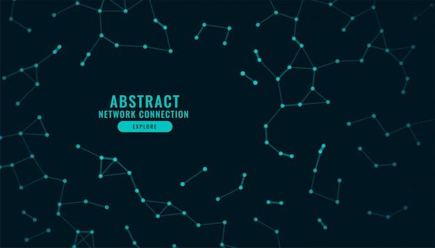 Cyfrowe Połączenie Sieciowe Technologia Tło Low Poly Darmowych Wektorów