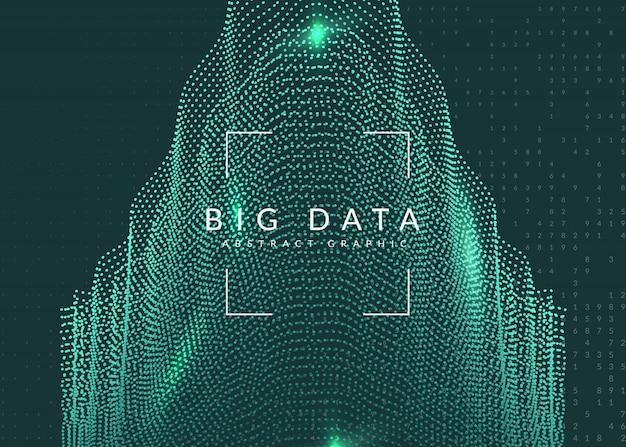 Cyfrowej Technologii Abstrakta Tło. Sztuczna Inteligencja, Premium Wektorów