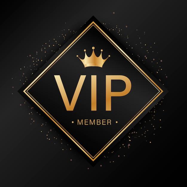 Czarna dekoracyjna złota etykieta Premium Wektorów