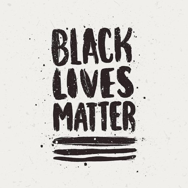 Czarne Litery Mają Znaczenie Darmowych Wektorów